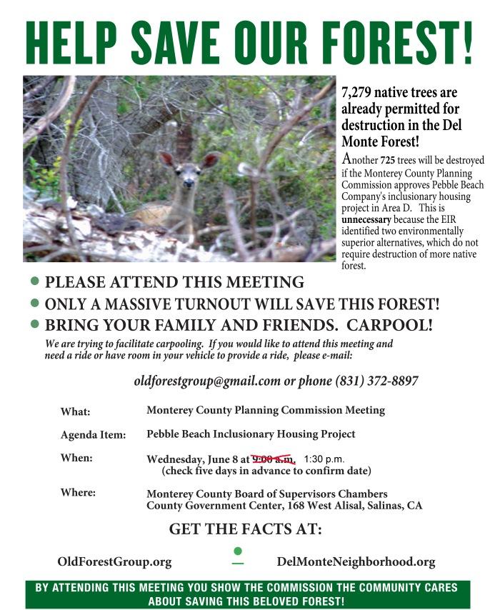 HelpSaveOurForest-June8